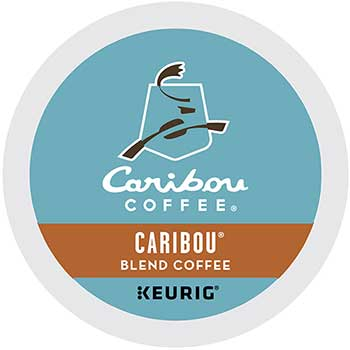 Caribou® Blend Coffee K-Cup® Pods, 24/BX