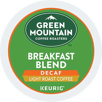 Green Mountain Coffee® Breakfast Blend Decaf Coffee K-Cup® Pods, 24/BX