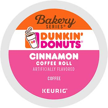 Cinnamon Coffee Roll, K-Cup® Pods, 24/BX