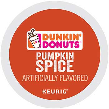 Pumpkin Spice, K-Cup® Pods, 24/BX