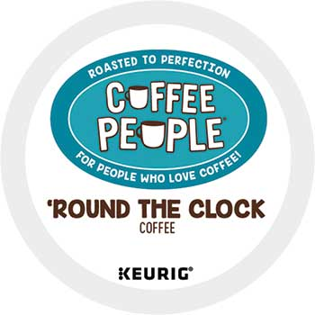 'Round the Clock Blend Coffee K-Cup® Pods, 24/BX