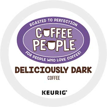 Deliciously Dark Coffee K-Cup® Pods, 24/BX