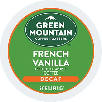 French Vanilla Decaf Coffee K-Cups, 24/BX, 4 BX/CT