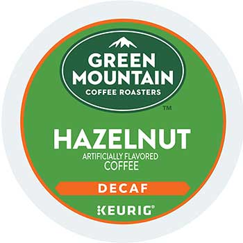Hazelnut Decaf Coffee K-Cup® Pods, 24/BX
