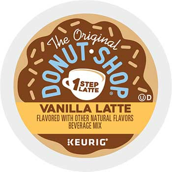 Vanilla One-Step Latte K-Cup® Pods, 20/BX
