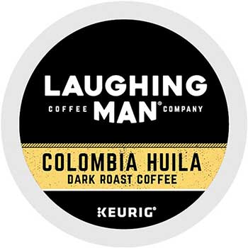 Laughing Man® K-Cup® Pods, Colombia Huila, 22/BX