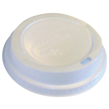 Green Mountain Coffee® Plastic Lids for Eco-Friendly Hot Cups, Gourmet Domed, White, 1200/Carton