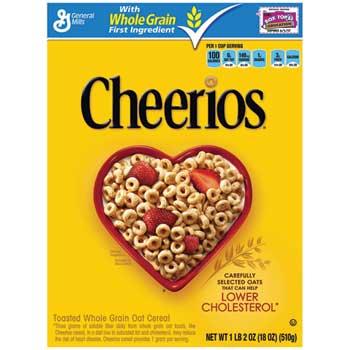 General Mills Cheerios® Cereal, 18 oz.