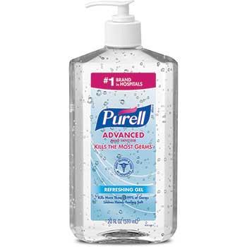 Advanced Hand Sanitizer Gel, 20 oz. Pump Bottle