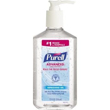 Advanced Hand Sanitizer Gel, 12 oz. Pump Bottle
