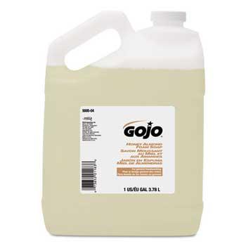 GOJO® Honey Almond Foam Soap, 1 gal Bottle, 4/CT