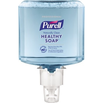 ES6 Professional CRT HEALTHY SOAP™ Naturally Clean Foam Refill, 1200 mL, 2/CT