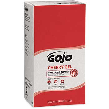 GOJO® Cherry Gel Pumice Hand Cleaner, 5000 mL Refill for GOJO® PRO™ TDX™ Dispenser, 2/CT