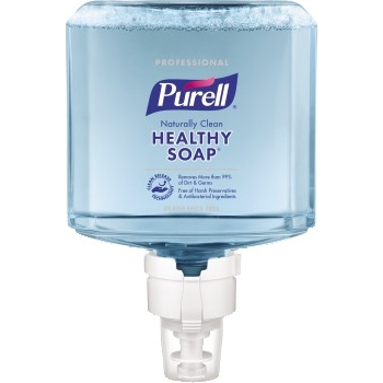 PURELL® Professional CRT HEALTHY SOAP™ Naturally Clean Foam, 1200 mL Refill for PURELL® ES8 Touch-Free Soap Dispensers, 2/CT