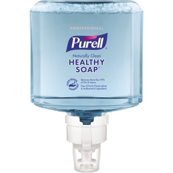 Professional CRT HEALTHY SOAP™ Naturally Clean Fragrance Free Foam, 1200 mL Refill for PURELL® ES8 Touch-Free Soap Dispensers, 2/CT