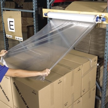 """W.B. Mason Co. Goodwrappers® Top Sheeting, 60"""" x 60"""", Clear, 1/CS"""