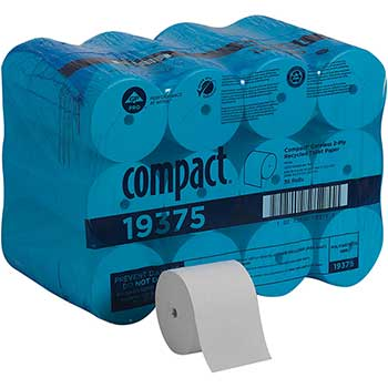 Georgia Pacific® Professional Recycled Toilet Paper by GP Pro, Coreless, 2-Ply, 1000 Sheets, 36 RL/CT