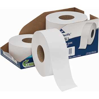 Jumbo Jr. Toilet Paper by GP Pro, 2-Ply, 1,000 Feet, 4 RL/CT