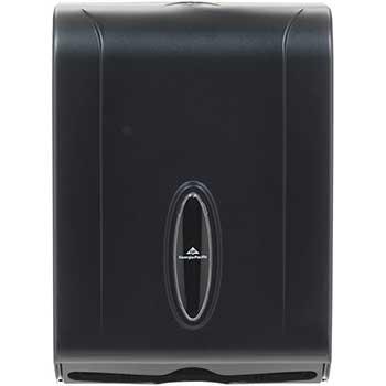 Georgia Pacific® Professional Combination C-Fold/Multifold Towel Dispenser, 11w x 5 1/4d x 15 2/5h, Translucent Smoke