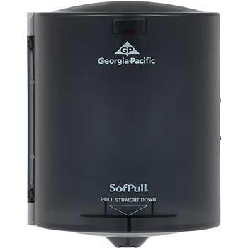 "Georgia Pacific® Professional Centerpull Regular Capacity Paper Towel Dispenser, 9.25""W x 8.75""D x 11.50""H, Translucent Smoke"