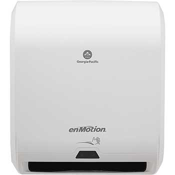 """Automated Touchless Paper Towel Dispenser by GP Pro, 10"""", 14.700"""" W x 9.500"""" D x 17.300"""" H, White"""
