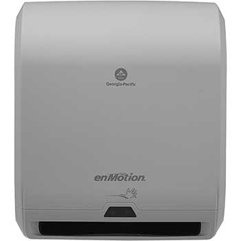 """enMotion® Automated Touchless Paper Towel Dispenser, 10"""", 14.7""""W x 9.5""""D x 17.3""""H, Gray"""