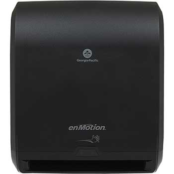 "Automated Touchless Paper Towel Dispenser by GP Pro, 10"", 14.700"" W x 9.500"" D x 17.300"" H, Black"