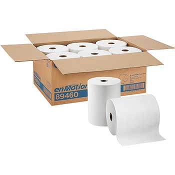 """Paper Towel Roll by GP Pro, 10"""", 800 Feet, White, 6/CT"""