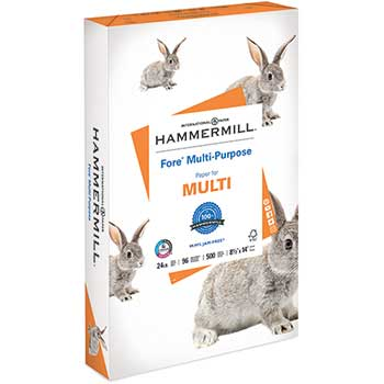 Hammermill Fore Paper, 24 lb. Legal, White, 5000/CT
