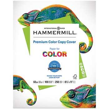 Premium Color Copy Cover, 60 lbs., 8 1/2 x 11, Photo White, 250 Sheets