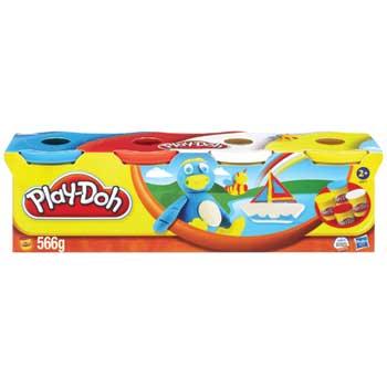 Hasbro® Play-Doh®, Assorted, 3 oz., 4/PK