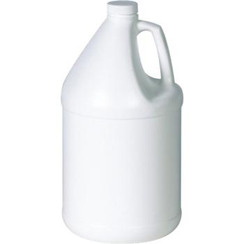 Plastic Jug, 1 Gallon, White, 48/CT