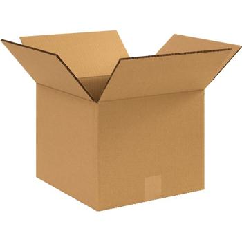 "W.B. Mason Co. Heavy-Duty boxes, 12"" x 12"" x 10"", Kraft, 25/BD"