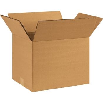"""W.B. Mason Co. Double Wall boxes, 16"""" x 10"""" x 10"""", Kraft, 15/BD"""