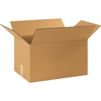 "W.B. Mason Co. Heavy-Duty boxes, 16"" x 12"" x 10"", Kraft, 25/BD"