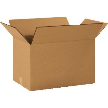 """Double Wall boxes, 16"""" x 8"""" x 8"""", Kraft, 15/BD"""