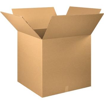 """W.B. Mason Co. Double Wall boxes, 30"""" x 30"""" x 30"""", Kraft, 5/BD"""