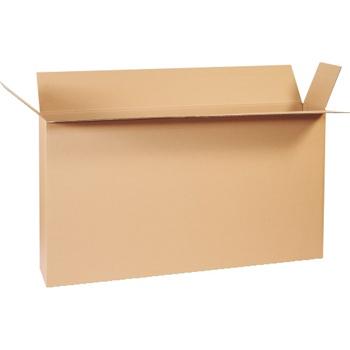 """W.B. Mason Co. Side Loading boxes, 48"""" x 8"""" x 24"""", Kraft, 10/BD"""