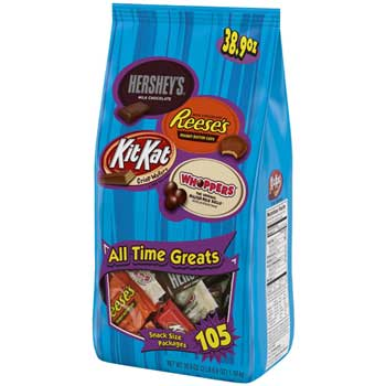 All Time Greats Candy Assortment, 38.9 oz. Bag