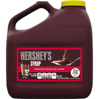 Chocolate Syrup, 7 lb. 8 oz. Jug , 6/CS
