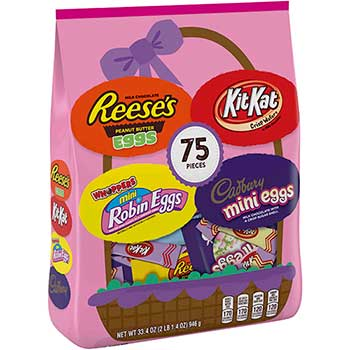 Easter Candy Assortment, 75 Pieces, 33.4 oz.