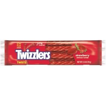 Strawberry Twists, 2.5 oz., 18/BX