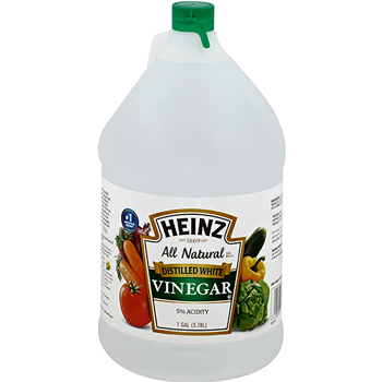 White Vinegar, 1 Gallon, 6/CS