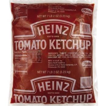 Heinz® Ketchup, 1.89 Gallon #10 Pouch Pack, 6/CS