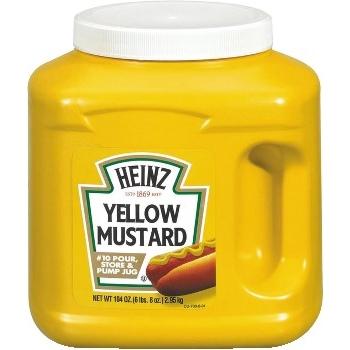 Heinz® Yellow Mustard Jug, 104 oz.