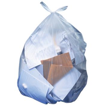 HDPE Trash Bin Liners, 12-16gal, 8mic, 1000/CT