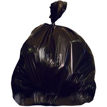 HDPE Trash Bin Liners, 40-45gal, 22mic, 150/CT