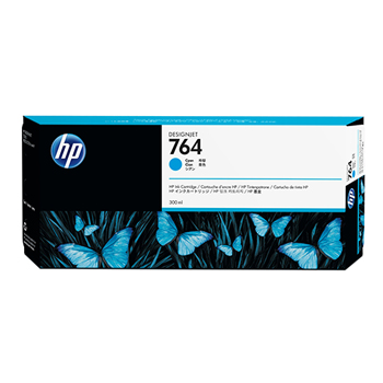 HP 764, (C1Q13A) Cyan DesignJet Ink Cartridge