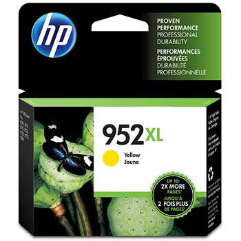 952XL Ink Cartridge, Yellow (L0S67AN)