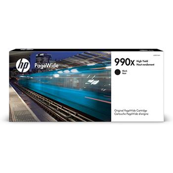 HP 990X PageWide Cartridge, Black High Yield (M0K01AN)